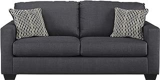 Benchcraft - Bavello Contemporary Sofa Sleeper - Full Size Mattress Included - Indigo