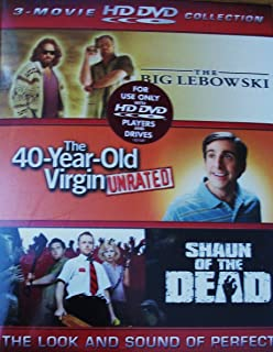 3-Movie HD DVD Collection: The Big Lebowski, The 40-Year-Old Virgin, Shaun Of The Dead