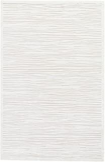 Jaipur Living Linea Abstract White Area Rug (7'6