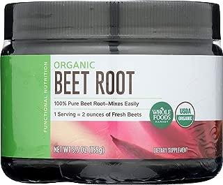 whole foods organic beet root powder