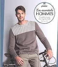 Les essentiels hommes: 13 modèles à tricoter dans 2 qualités de fils du S au XXL