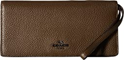 COACH - Slim Wallet in Color Block Leather
