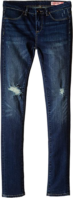 Blank NYC Kids - Denim Ripped Skinny Jeans in Junk Drawers (Big Kids)