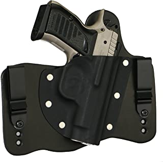 FoxX Holsters EAA Witness Compact .45 - No Rail Steel Model ONLY in The Waistband Hybrid Holster Tuckable, Concealed Carry Gun Holster