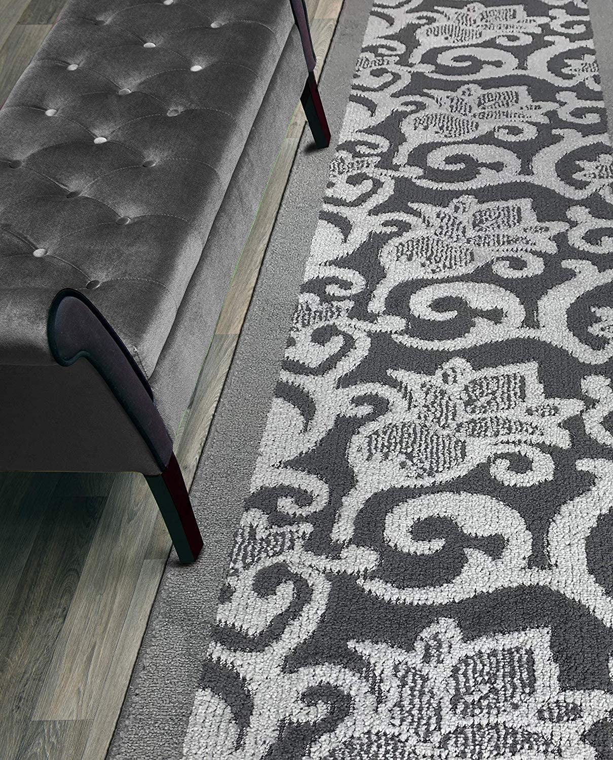 Custom Size Lily Hallway Runner Rug Wide 26 Resistant Don't miss the campaign Slip Inch shipfree