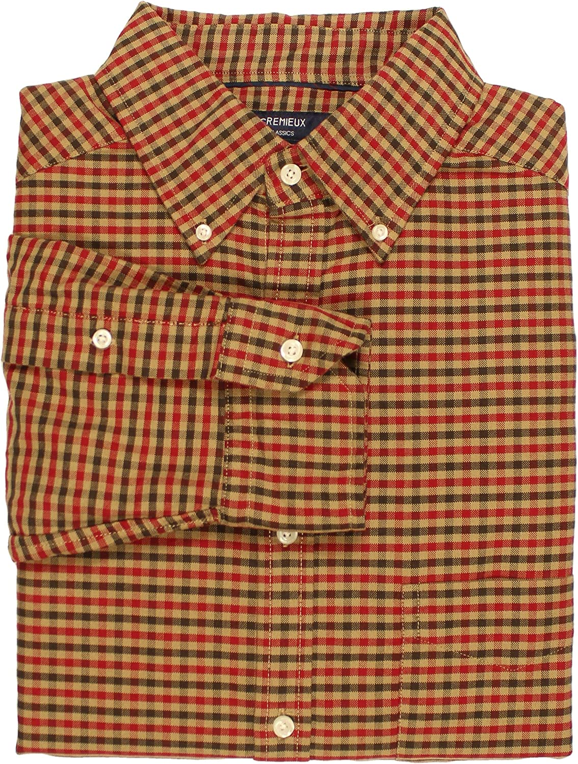 Cremieux Big and Tall Easy-Care Men's Long Sleeve Oxford Shirt
