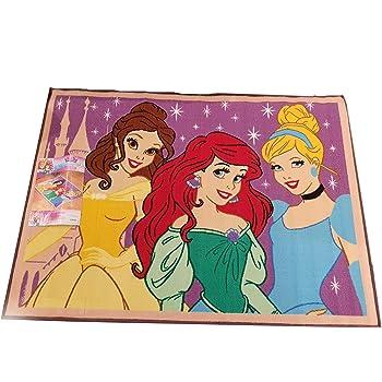 Disney Princess Decorative Rug Girls Bedroom Rugs Floor Mat 39.5 x 54 Inch