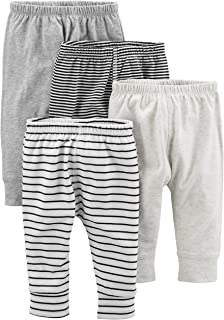 Simple Joys by Carter's Bébé garçon Pantalon En Coton, Lot de 4