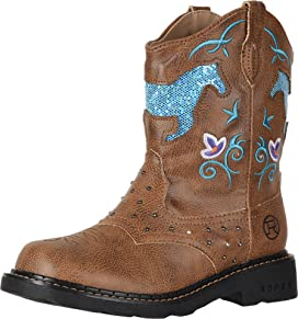71a78779ef8 Ariat Kids Fatbaby Cowgirl (Toddler/Little Kid/Big Kid) | Zappos.com