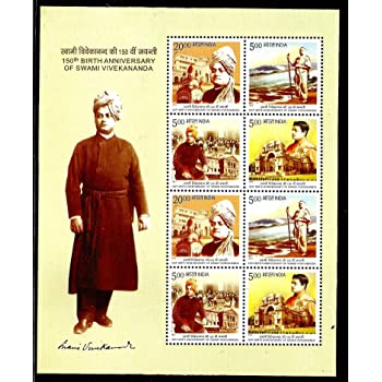 150th Birth Anniversary of Swami Vivekananda Stamps