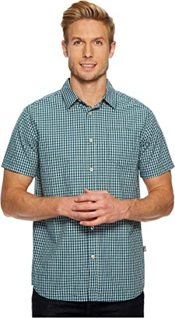 Short Sleeve Shadow Gingham Shirt