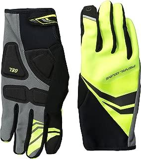 PEARL iZUMi Cyclone Gel Glove, Screaming Yellow, Large