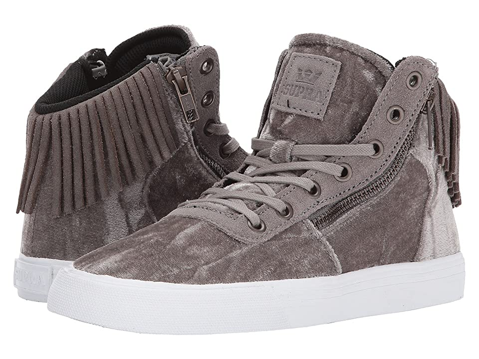 Supra Cuttler (Grey/Antique Brass/White) Women