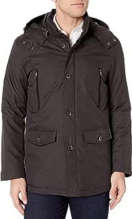 Bugatchi Men's Water Resistant Herringbone Pattern Jacket