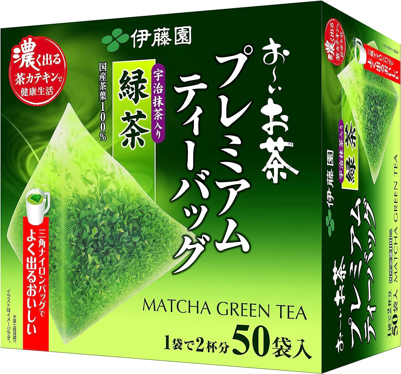 伊藤園 おーいお茶 プレミアムティーバッグ 宇治抹茶入り緑茶