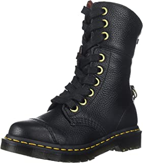 Women's Aimilita Black Aunt Sally Leather Fashion Boot