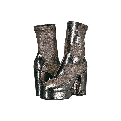 McQ Jean Blaze Ankle (Silver/Sparkle Dust) Women