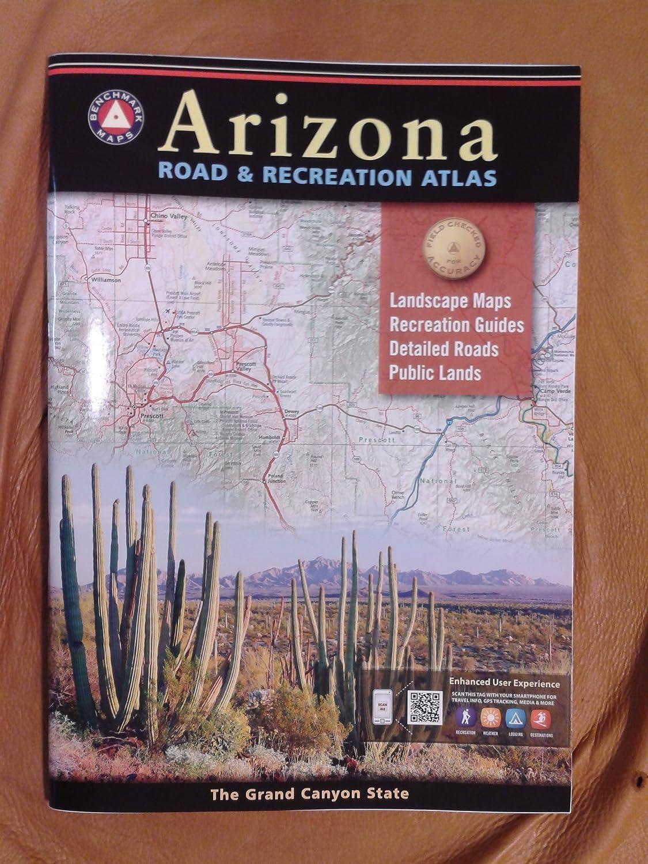Benchmark Maps Purchase Arizona Road Recreation Popular standard Atlas