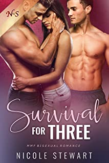 Survival for Three: MMF Bisexual Romance