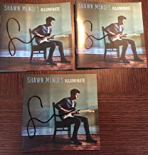 Shawn Mendes Illuminate Personally SIGNED REAL Autographed [Deluxe Edition] CD with 3 Bonus Tracks