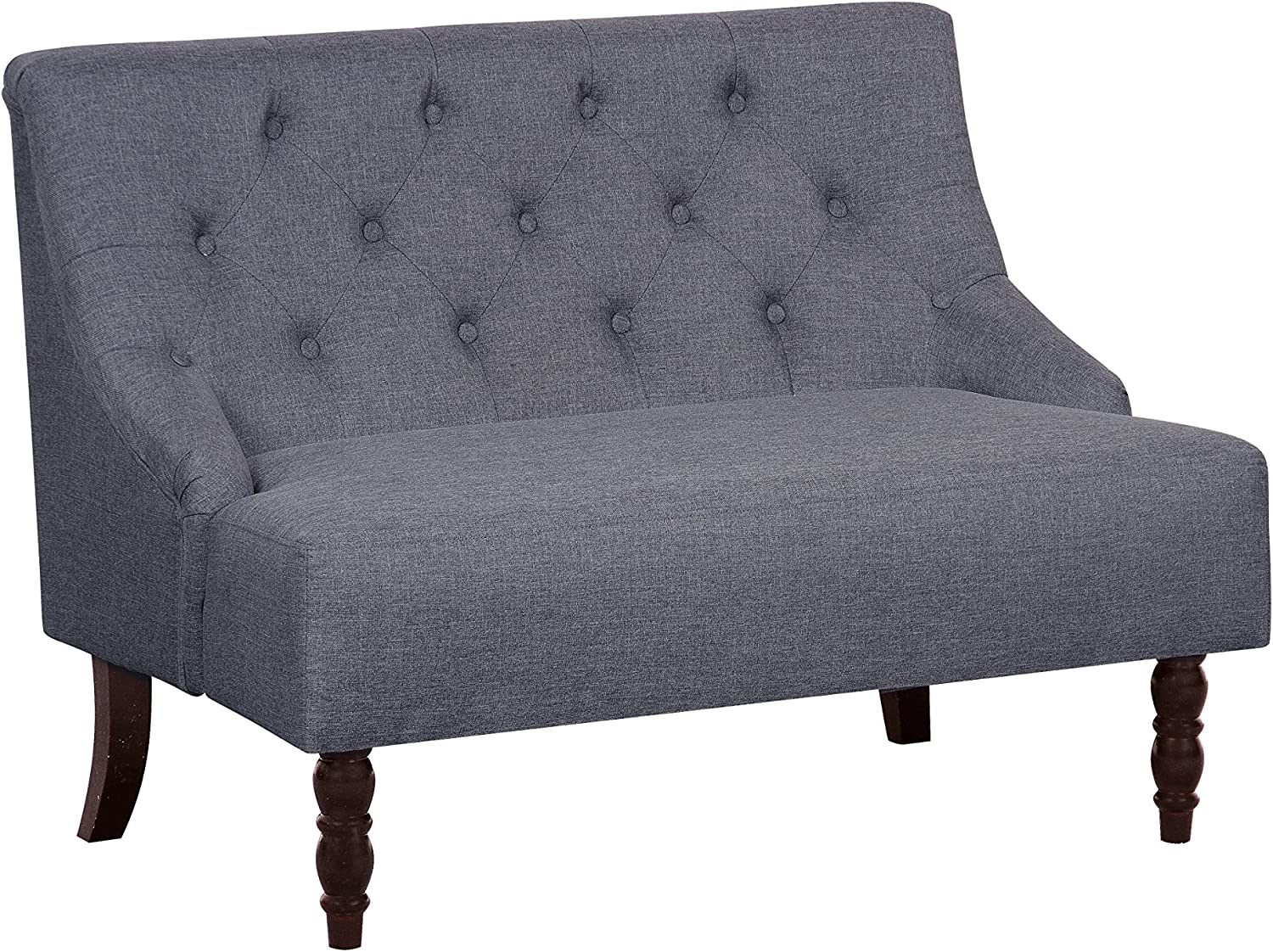 SALENEW very popular! Container Max 49% OFF Furniture Direct Angelina Linen Mid-Centur Upholstered