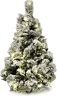 5 foot frosted christmas tree
