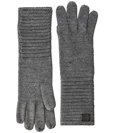 Frye Links Gloves (Medium Heather Gray) Extreme Cold Weather Gloves