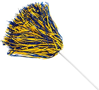 TCDesignerProducts Cheerleader 2 Color Football Pom Poms, Pack of 10