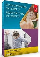 Adobe Photoshop & Premiere Elements - Student and Teacher Edition 13