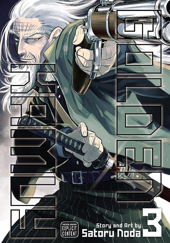 歩行者放射能驚くばかりGolden Kamuy, Vol. 3 (English Edition)