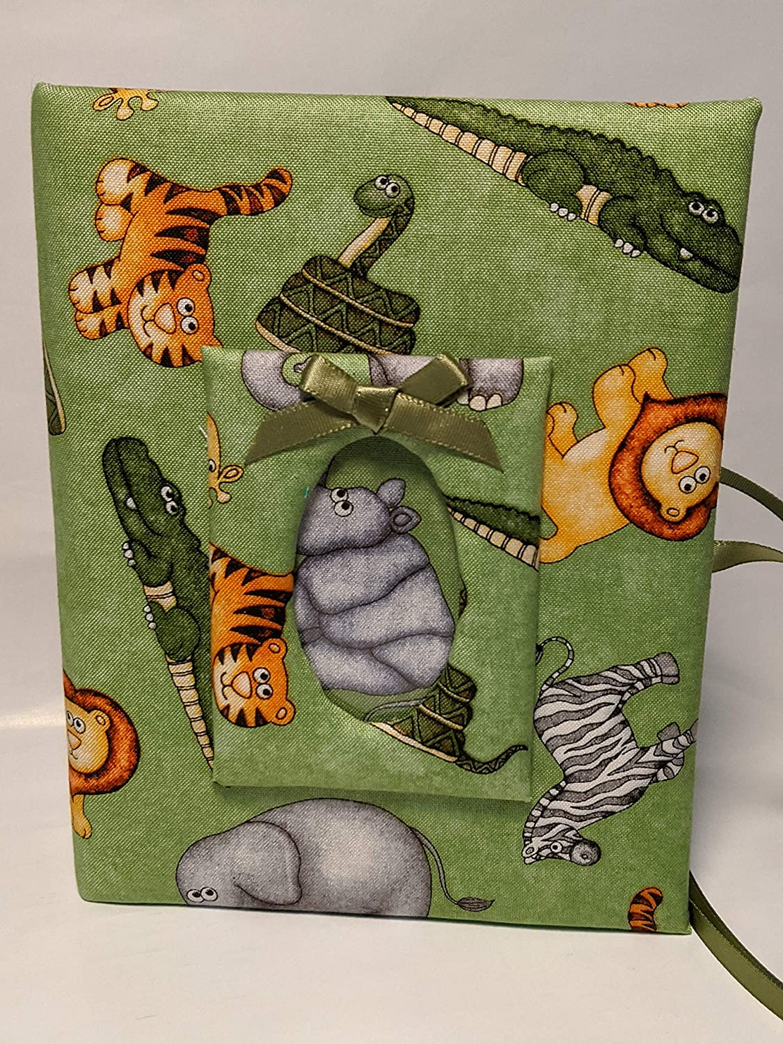 Zoo Rare Animals Custom Photo Album for baby Some reservation girl or 4 100 Holds boy-