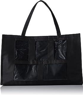Darice Photo Tote Bag - 5 Windows - 12x19 - Black