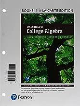 Essentials of College Algebra, Books a la Carte Edition (12th Edition)