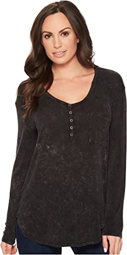 Rock and Roll Cowgirl - Long Sleeve Henley 48T4710