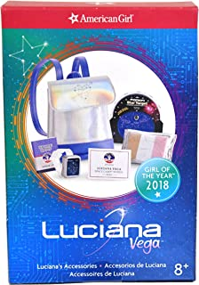 American Girl Doll 2018 Luciana Vega Accessories (Space-ready Theme)