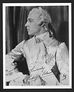 MOVIE PHOTO: Rudolph Valentino-8x10-B&W-Still