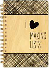 product image for Making Lists Pocket-Size Wooden Notebook By Night Owl Paper Goods