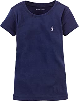 Short Sleeve Knit Tee (Toddler). Polo Ralph Lauren Kids. Short Sleeve Knit  Tee (Toddler)