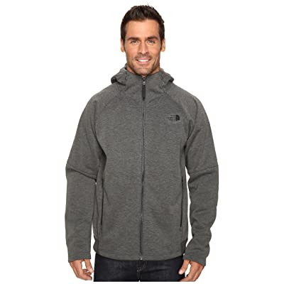 The North Face Trunorth Hoodie (Asphalt Grey Heather/Asphalt Grey (Prior Season)) Men