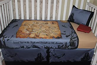 Crib Bedding Set, Peter Pan Theme 5 piece