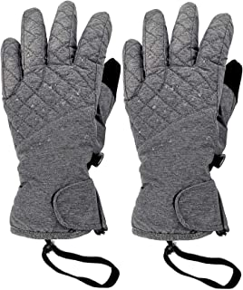 Winter Waterproof Snow Ski Mittens for Women Cold Weather Soft Warm Gloves Men