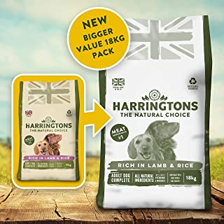 Harringtons Complete Lamb and Rice Dry Dog Food, 18 kg