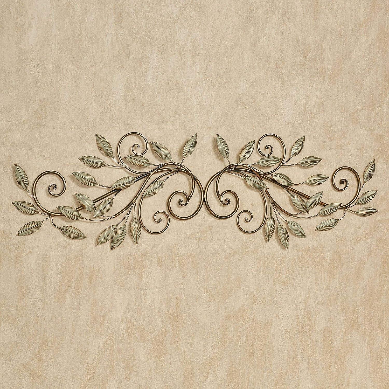 Ranking TOP2 Leaf Reverie Door Topper One Regular store Golden Bronze Size