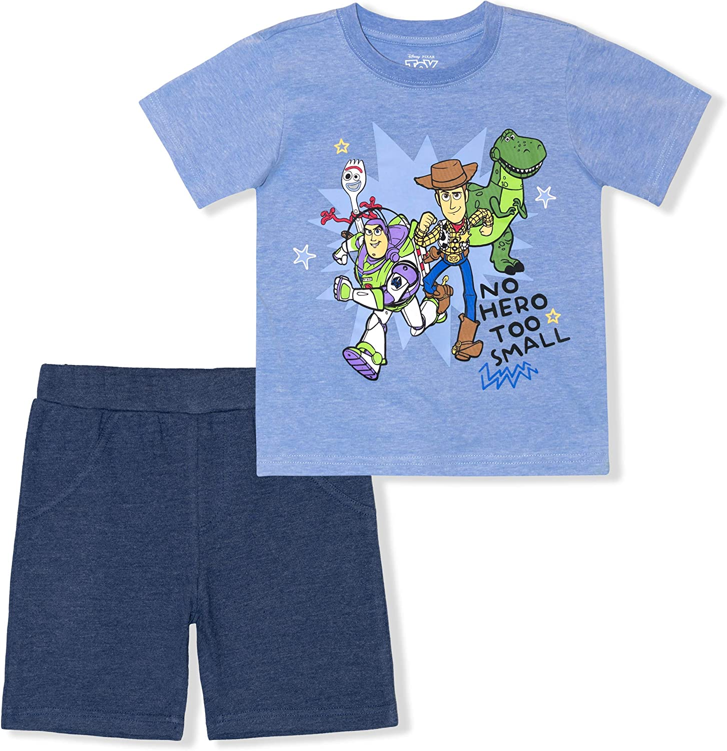 Disney Toy Free Shipping New Story Boy's 2 Pack Tee Shorts and Shirt for Fort Worth Mall Set Toddl