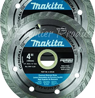 "Makita 2 Pack - 4"" Turbo Diamond Blades For 4"