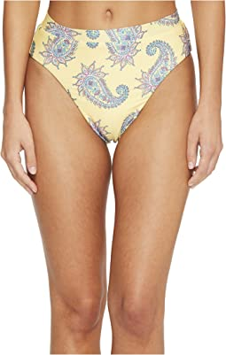 Isabella Rose Little Havana High Leg High-Waisted Bikini Bottom