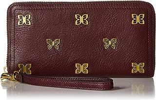 Logan RFID Zip Around Clutch Wallet