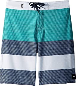 af63c4993d0ea Vans era stretch 18 boardshort aqua flamingo | Shipped Free at Zappos