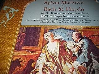 Sylvia Marlowe plays Bach & Haydn [Brandenburg Concerto 5, Harpsichord Concerto in D]