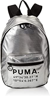 PUMA Womens Backpack, Silver - 076595